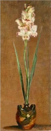 an analysis of gladioli by claude monet Claude monet all paintings by 1873-1876 in high definition, painting analysis | art-monetcom.