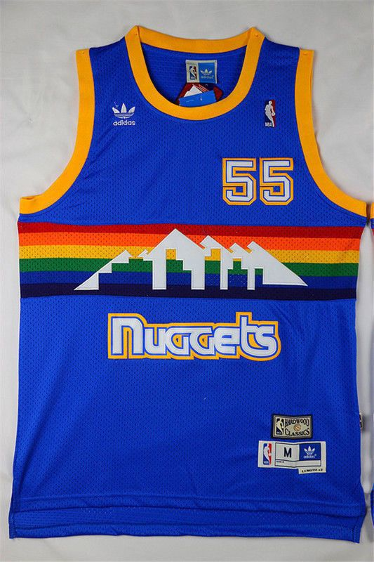 Denver Nuggets #55 Dikembe Mutombo Retro Mesh Blue Jersey Size: S - XXL | Sports Mem, Cards & Fan Shop, Fan Apparel & Souvenirs, Basketball-NBA | eBay!