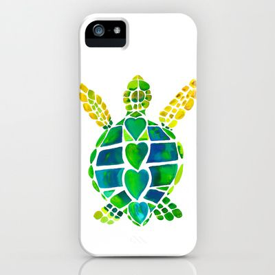 Turtle Love iPhone & iPod Case by Catherine Holcombe - $35.00