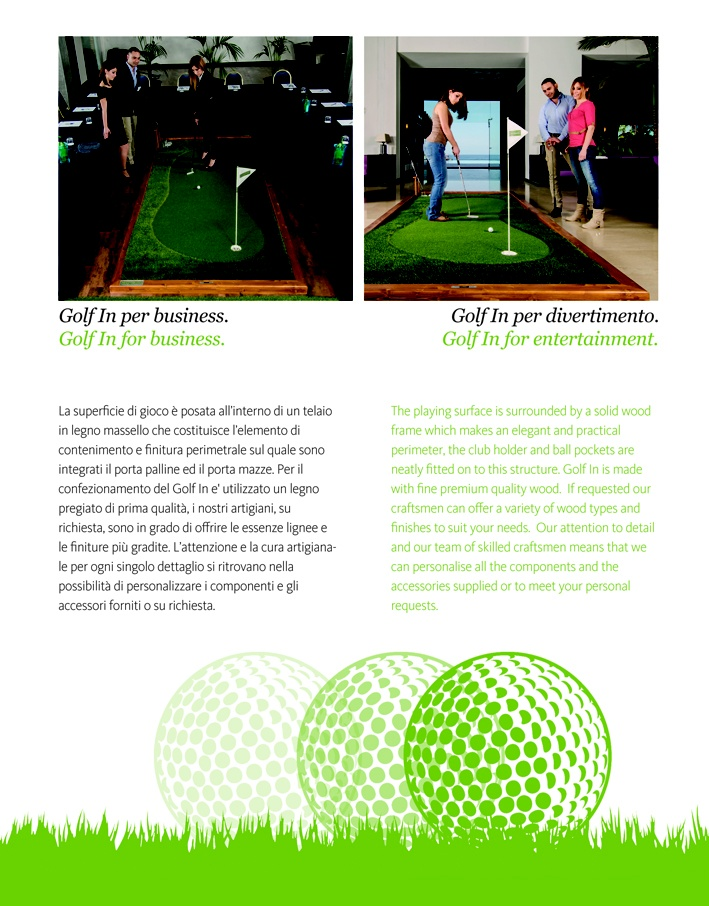 Pagine 7 Brochure Golf In Green Makers