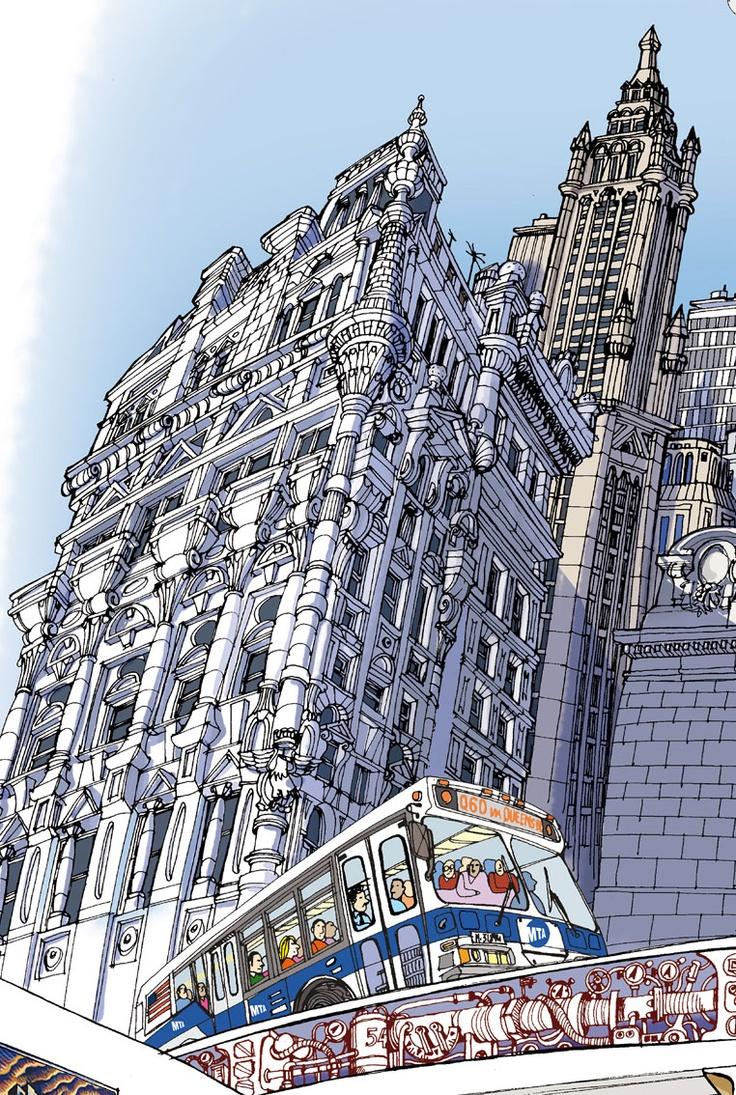 New York City_ Carlo Stanga Illustrator_ www.carlostanga.com