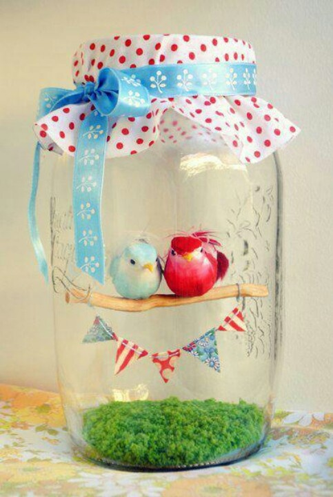 Leuke #decoratie voor op de tafels of in kleine hoekjes tijdens een #communie of #lentefeest!