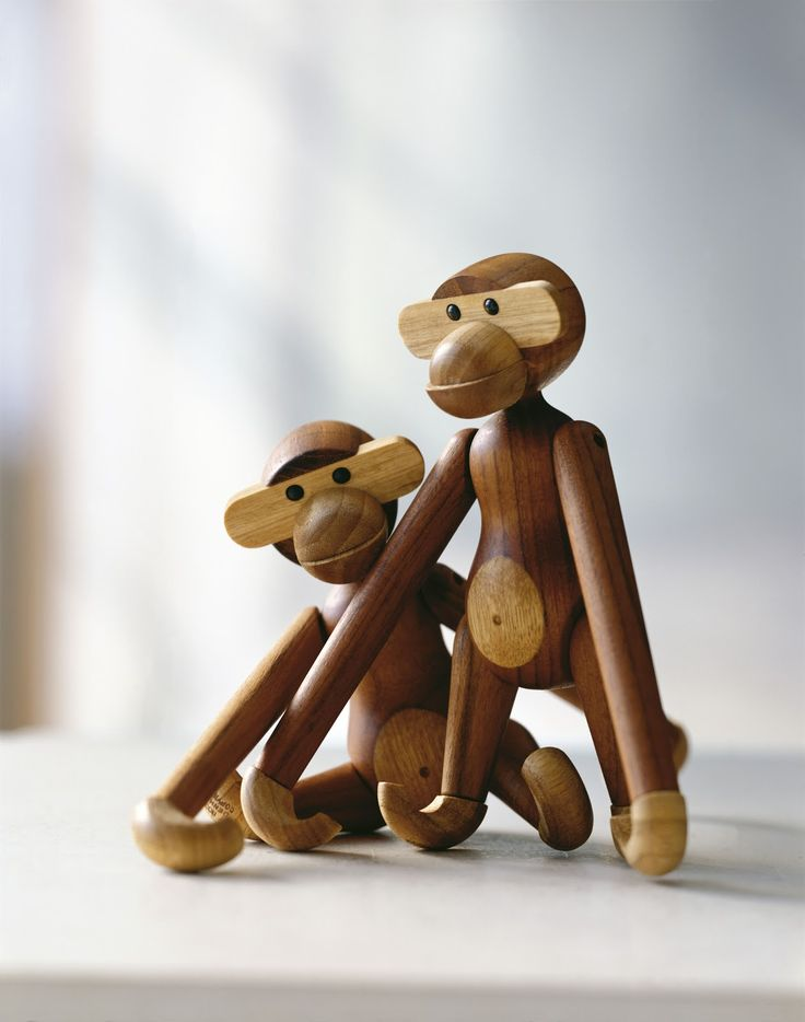 Scandinavian design - Kay Bojesen and his wooden toys.