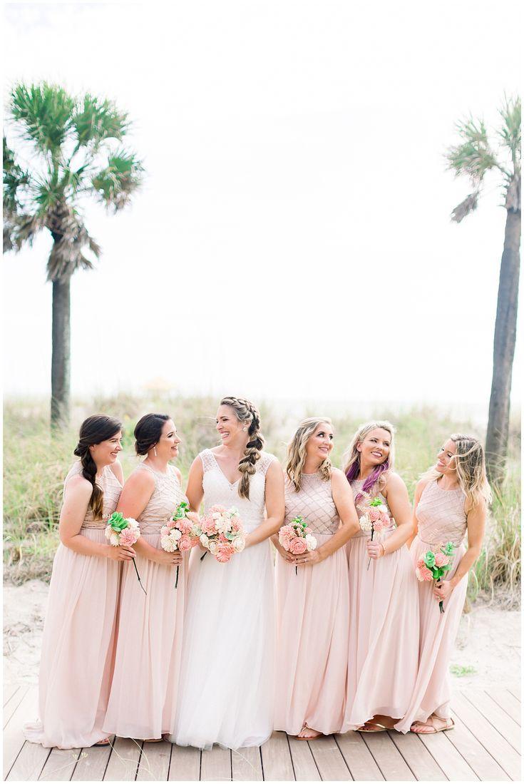 Bridesmaids Style Blush Pink Bridesmaids Dresses For Beach Wedding Shauna And Jordon Photo Blush Pink Bridesmaid Dresses Bridesmaid Wedding Bridesmaids Pink,Fancy Dress For Wedding Party