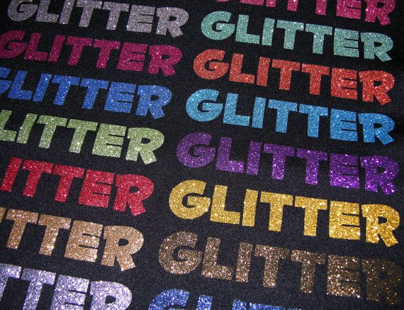 12 x 19.5 Glitter Heat Transfer Vinyl  Heat by OneSourceStore, $5.50
