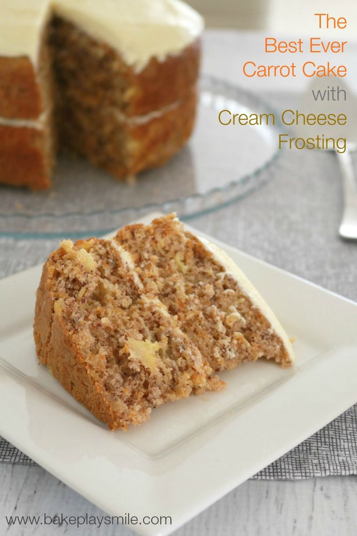 This is seriously the best carrot cake you'll ever make and it's Thermomix-friendly!   Bake Play Smile