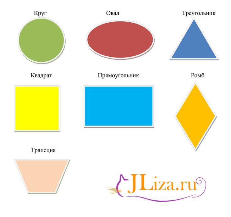Картинки овал треугольник квадрат