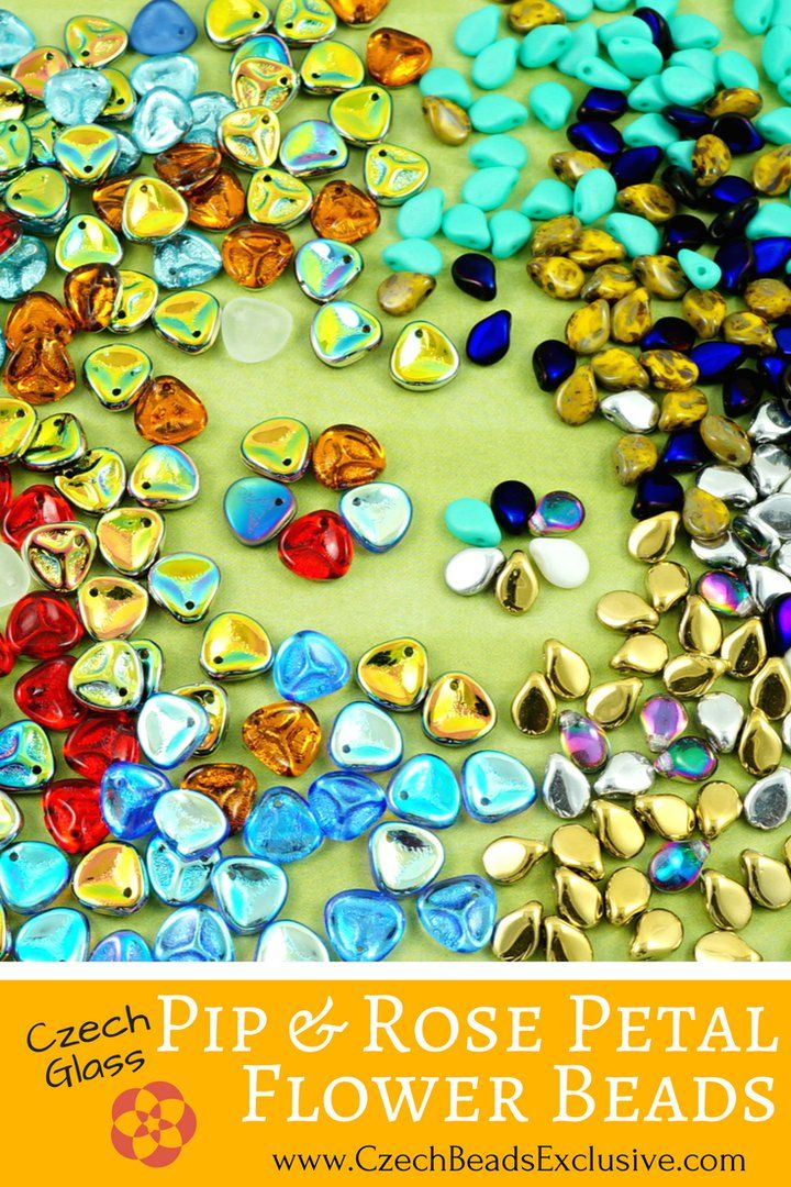 ? Bead Battle! Pip Or Rose Petal Beads? Write in comments!  Czech Glass Pip and Rose Petal Flower Beads  Different Popular Colors & Finishes! - Buy now with discount!  Hurry up - sold out very fast! www.CzechBeadsExclusive.com/+petal SAVE them! ??Lowest price from manufacturer! Get free gift! 1 shipping costs - unlimited order quantity!  Worldwide super fast ?? shipping with tracking number! Get high wholesale discounts! Sold with  at http://www.CzechBeadsExclusive.com #CzechBeadsExclusive…