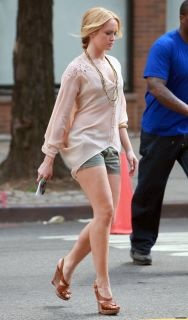 Kaylee DeFer from Gossip Girl spotted in Twelfth Street by Cynthia Vincent