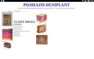 PSORIAZIS-CORESPONDENTA  DENIPLANT: Rolul de termoreglare a temperaturii pielii