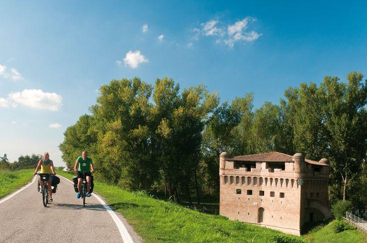 Rocca di Stellata, Delta del Po | Po Delta, Emilia-Romagna, Italy | #VearHausing for your vacation in Lidi Ferraresi www.vear.it