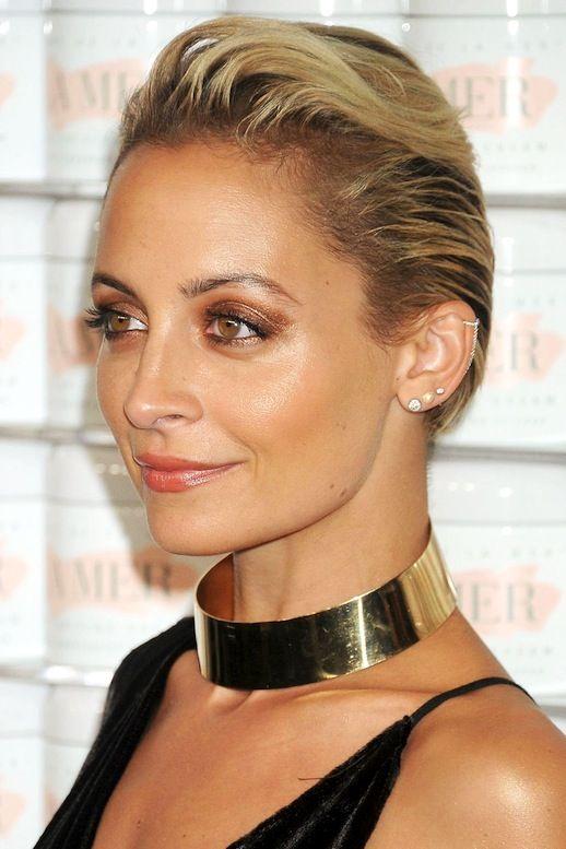 Beauty Inspiration: Nicole Richie's Bronzed Metallic Eye Look