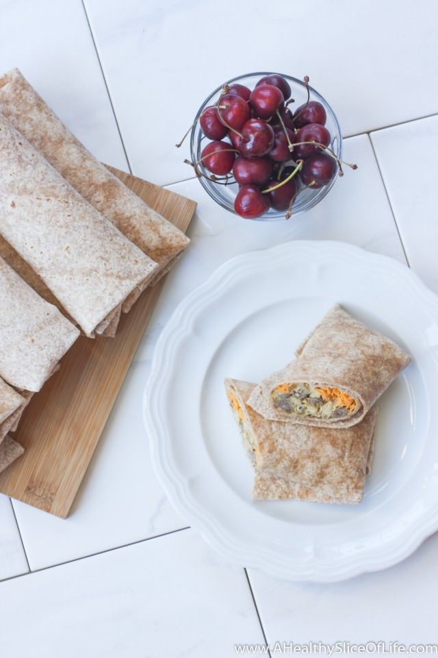Healthy Breakfast Burritos for the Freezer | A Healthy Slice of Life