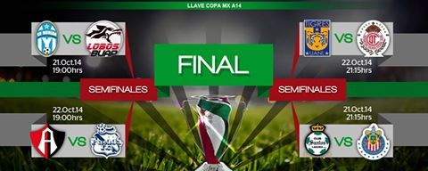 Copa MX Quarterfinals this week! Who you got? https://www.facebook.com/LigaBancomerMX