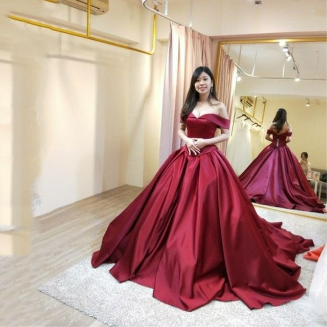 f2c2df84d220a Burgundy Muslim Evening Dresses 2019 A-line Cap Sleeves Sexy Formal Islamic  Dubai Kaftan Saudi Arabic Long Evening Gown Review