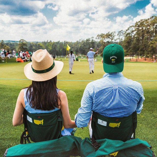kieljamespatrick: Morning at the Masters ⛳️ (at Augusta National Golf Club)