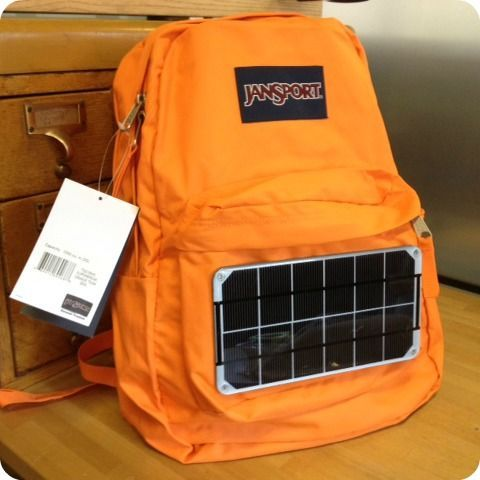 Build your own solar backpack