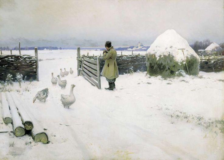 Mikhail Germashev: Χιόνι (1897)
