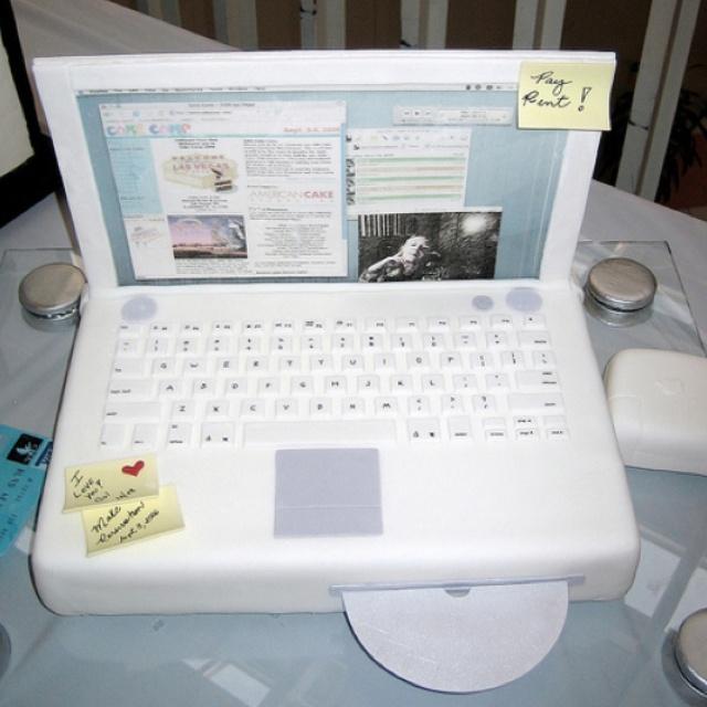 Open Briefcase Cake Tutorial