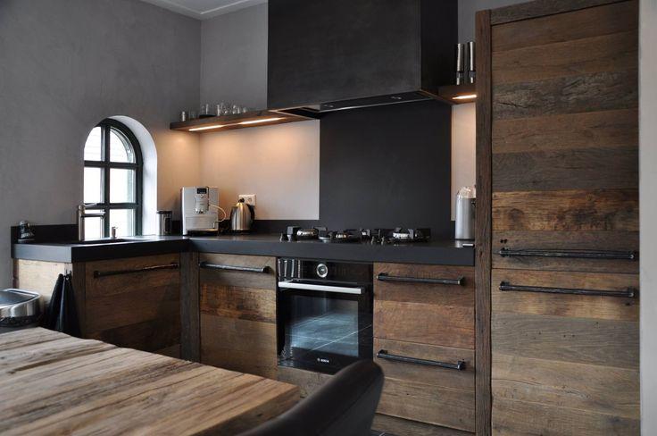 Wandplank Keuken Landelijk : keuken oud eikenhout – Product in beeld – Startpagina voor keuken