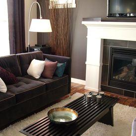 contemporary living room by Rochelle LD Zemlak @ Rochelle Lynne Design