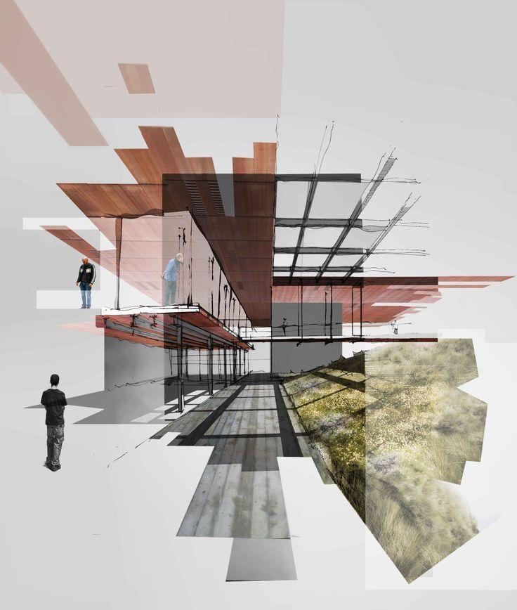 Ergebnis der Collage-Architektur