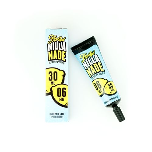 Frosted Vape Company Frosted Nilla Nade Tube - A heaping scoop of Vanilla Ice Cream, a splash of Fresh Milk and a glass of Fresh-Squozen Lemonade