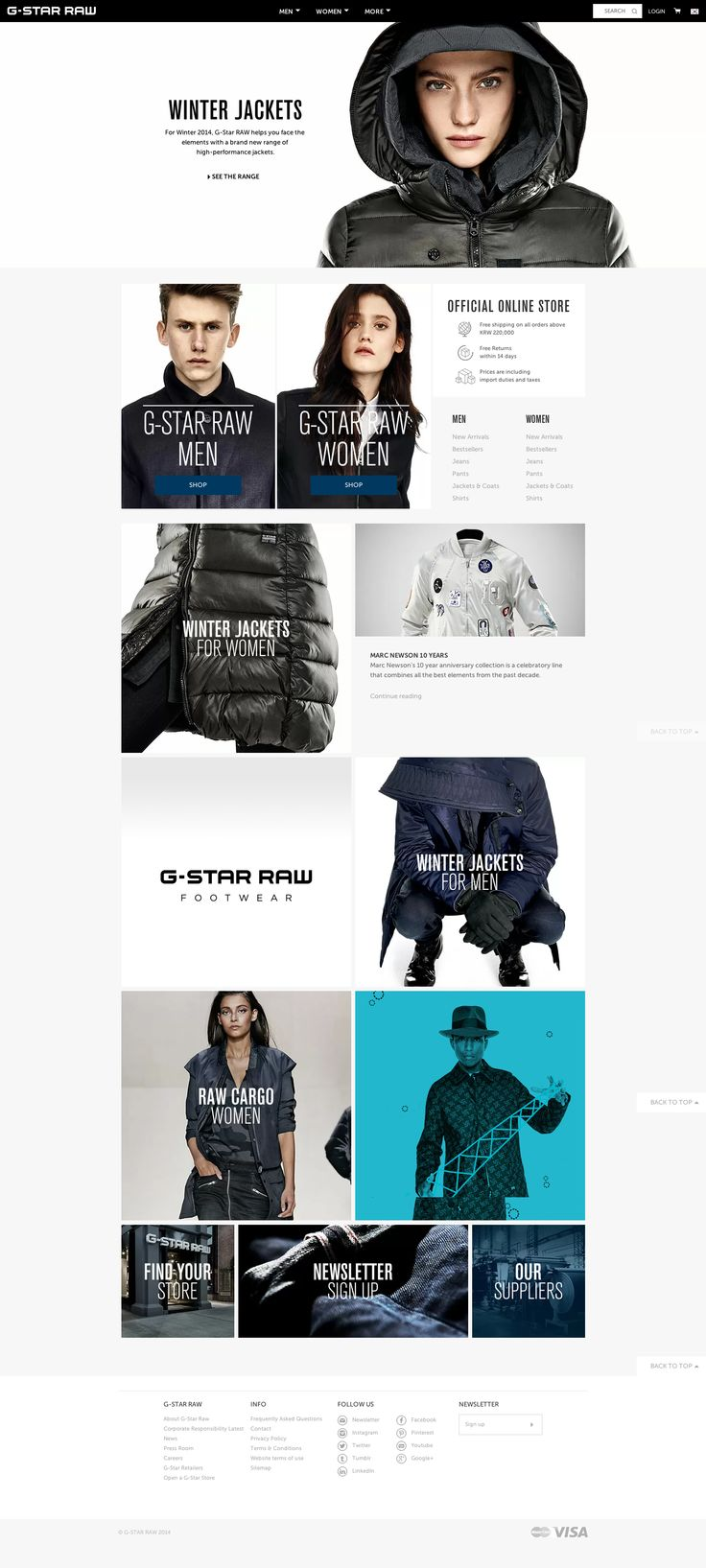 G-Star RAW | Official Brand Site - Shop The Collection