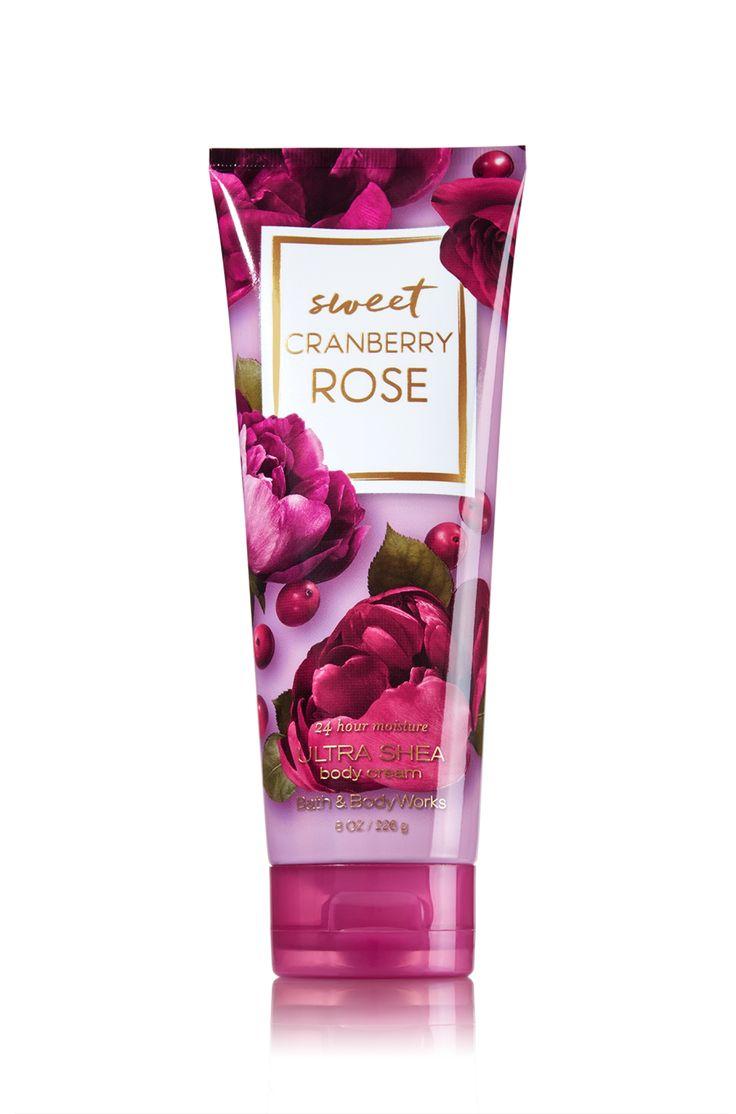 Sweet Cranberry Rose Ultra Shea Body Cream Signature