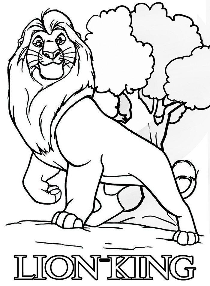 Disney Coloring Pages Lion King Lion Coloring Pages Disney Coloring Pages King Coloring Book