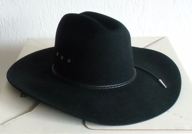 Roy Cooper Roundup Collection Cowboy Hat by W. Alboum Hat Company original Box #AlboumHatCo #Cowboy