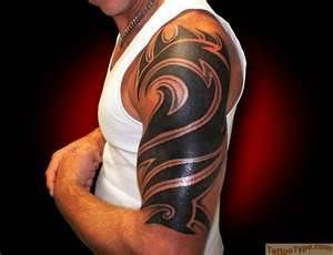 arm and back tribal tattoos - Bing Images