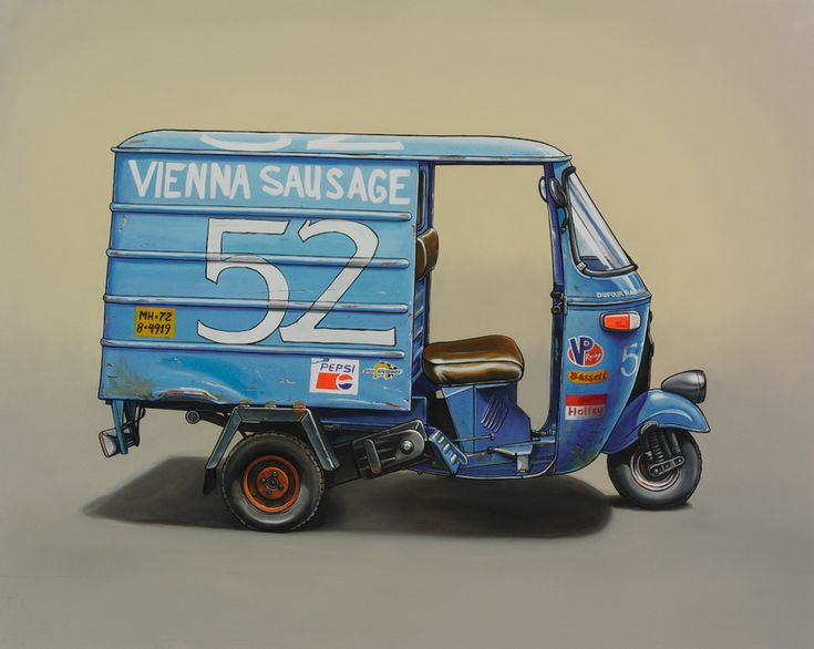 Unusual Vehicles Oil Paintings by Kevin Cyr | Abduzeedo Design Inspiration & Tutorials