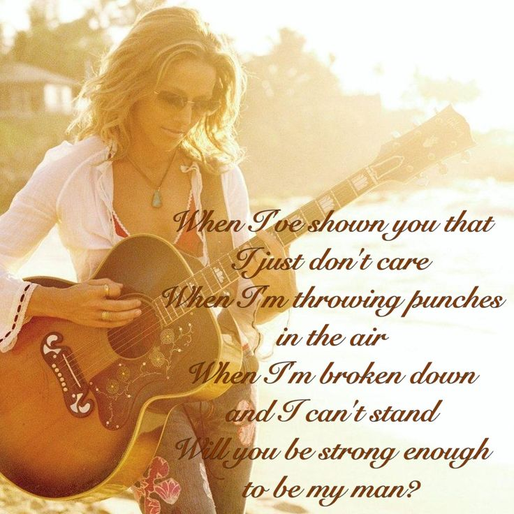 Strong Enough ~ Sheryl Crow