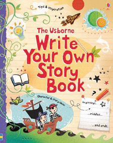 full of inspiring ideas for all kinds of different stories, with space for you to write them in, and writing tips to help you on your way.