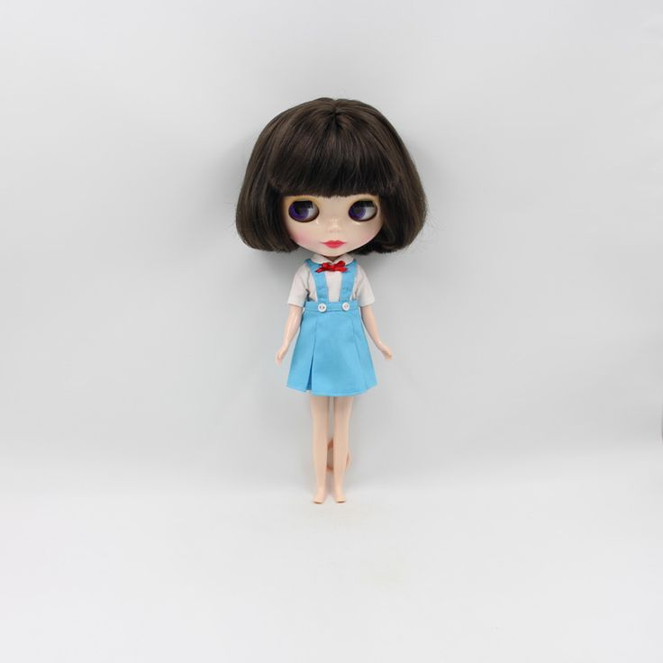 >> Click to Buy << Nude cute Blyth doll DIY brown bangs short hair fashion dolls gift for girls #Affiliate
