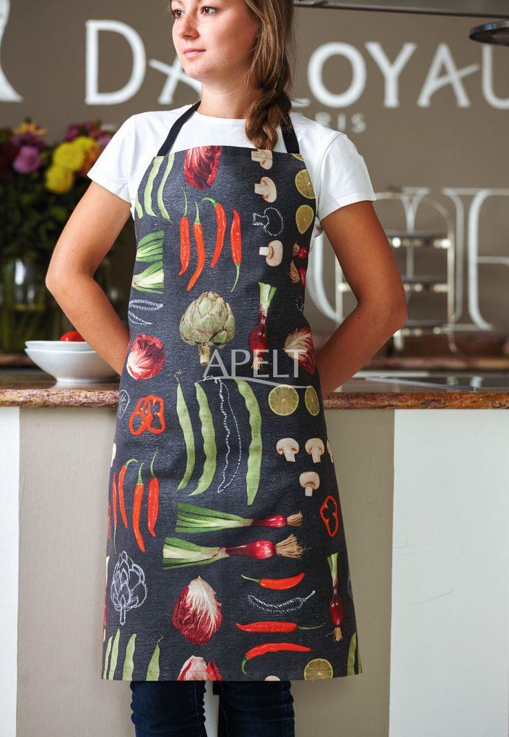 eine Gemüse-Schürze für die Küche, Artikel 6109 von Apelt