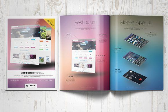 Web Design Proposal by Kahuna Design on @creativemarket