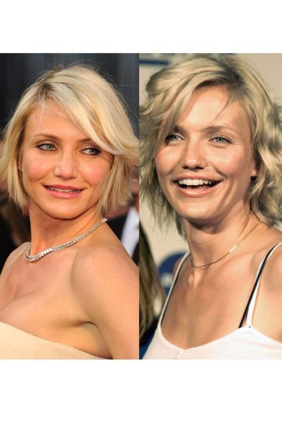 Cameron's beauty evolution: http://www.glamour.co.za/beauty-body/631537.html#