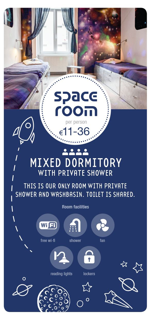 Award winning, small, family run design hostel offering three dormitory rooms, one double and three apartments in the centre of Budapest.