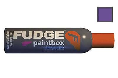 Fudge paintbox spray purple haze 125g extreme temporary spraySpice it up for a night of action with Paintbox Hairspray. This medium hold hairspray colours your hair anyway you want and comes out with just 1 shampoo. Temporarily adds inten http://www.comparestoreprices.co.uk//fudge-paintbox-spray-purple-haze-125g.asp
