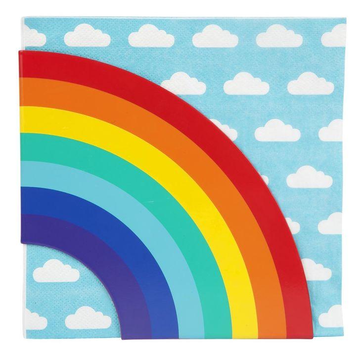 SunnyLIFE - Sky Napkins & Rainbow Holder