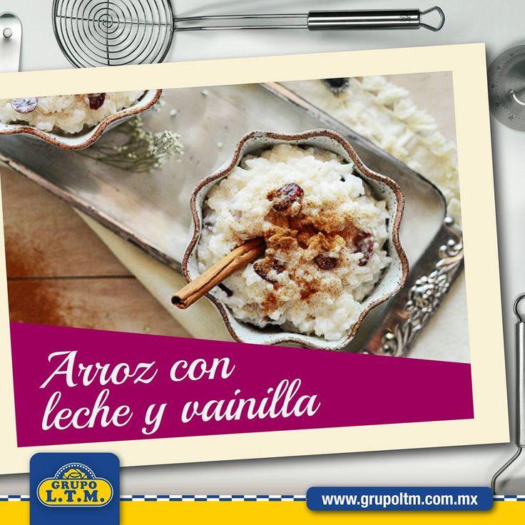 ¿Ya tienes el postre para tu celebración del día del grito? ¿Qué tal un tradicional arroz con leche con un toque de vainilla LA PUREZA?  Haz click en la imagen para ver la receta completa.
