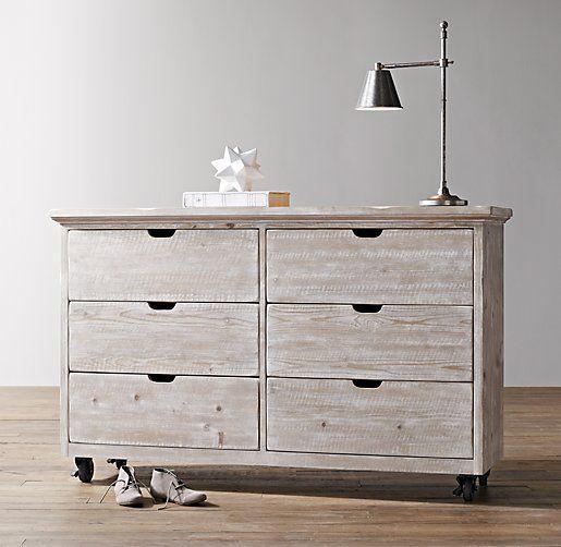 Tribeca Wide Dresser   Dressers   Restoration Hardware Baby & Child