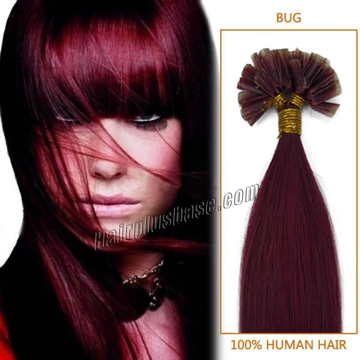 12 best pre bonded hair extensions images on pinterest fusion inch straight wine red u tip hair extensions 100 strandset burgandy nail tip fusion hair extensions pmusecretfo Choice Image
