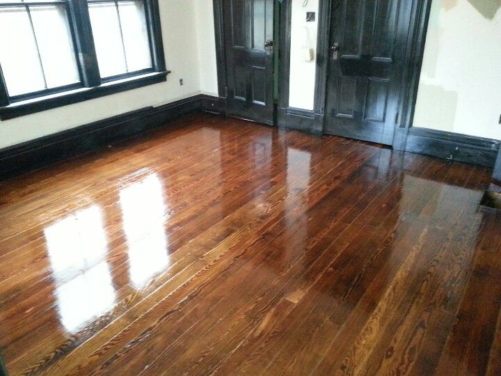 Yes please to shiny upstairs floors are done 130 year for Hardwood floors not shiny