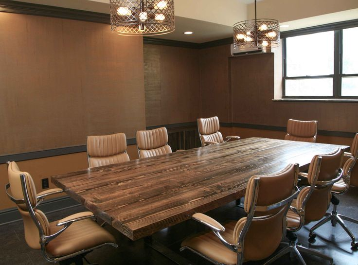 Lovely 10ft Turkish Steel Conference Table | Farmhouse Conference Table | Rustic Conference  Table With Metal Legs