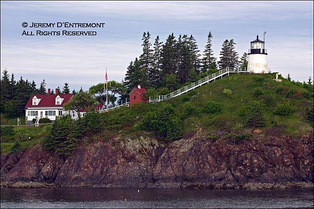 Owls Head Lighthouse Owls Head, Maine built 1825