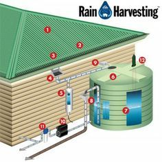 How do I create a complete Rainwater Collection System? Emergency Water Source - The Homestead Survival