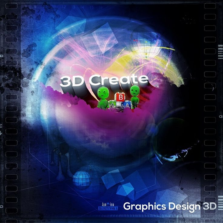 3D Create poster